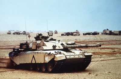 Challenger I Main Battle Tank in Iraq